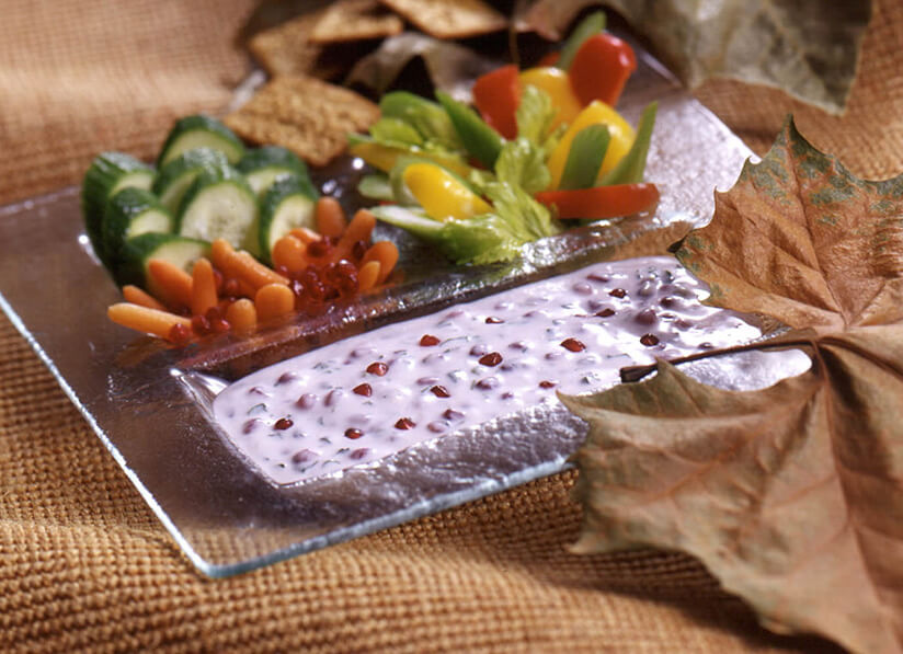 Pomegranate Yogurt Dip - Pomegranate Council
